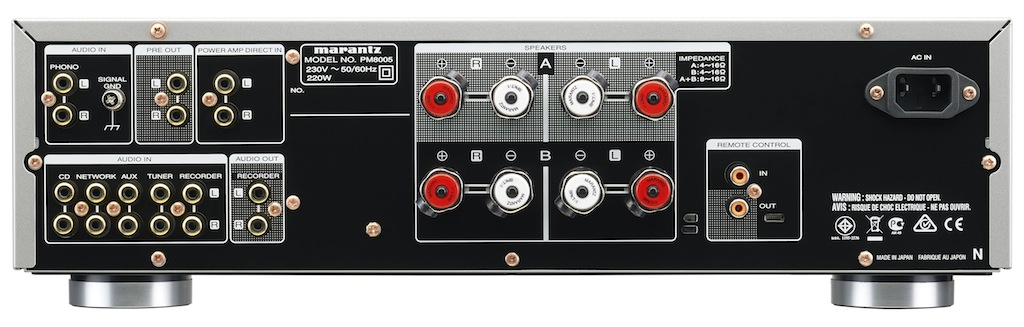 Marantz PM8005 Rear
