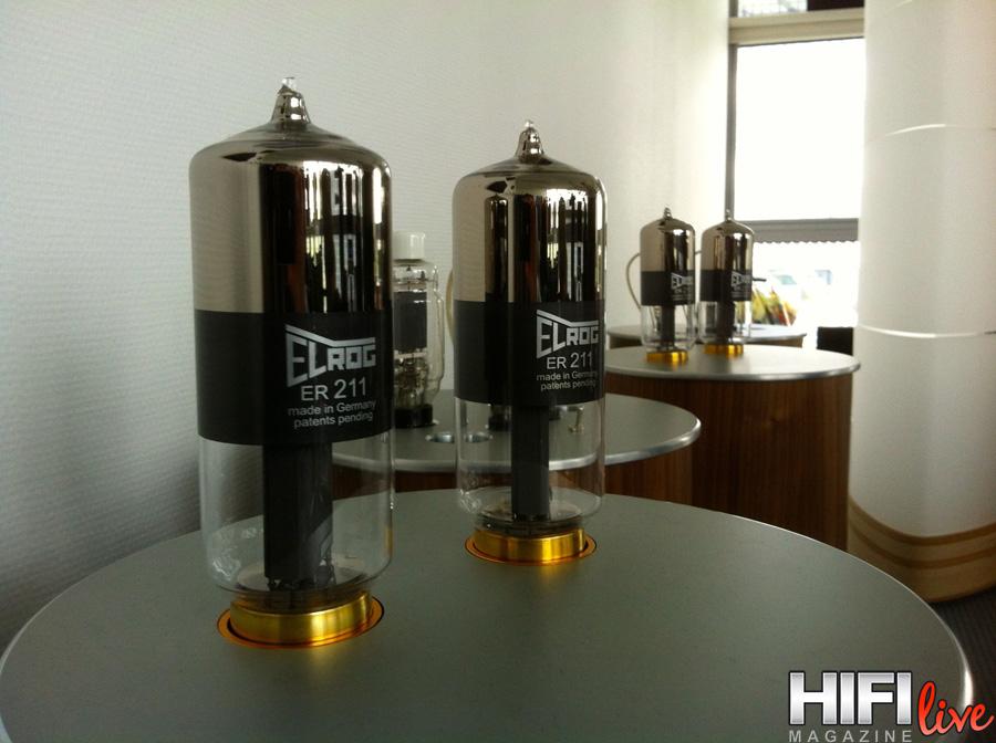 Válvulas de potencia Elrog, desafiantes sobre los hipnóticos amplificadores Thomas Mayer