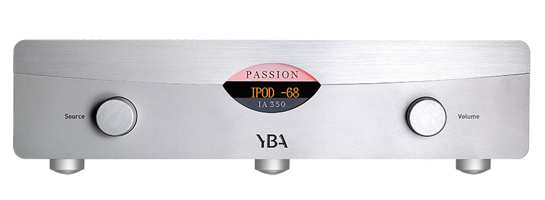 Amplificador-integrado-YBA-Passion-IA350-frontal