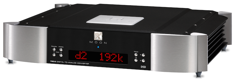Dac Moon Evolution 780D by Simaudio bicolor sobre fondo blanco