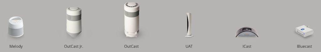 Soundcast wireless