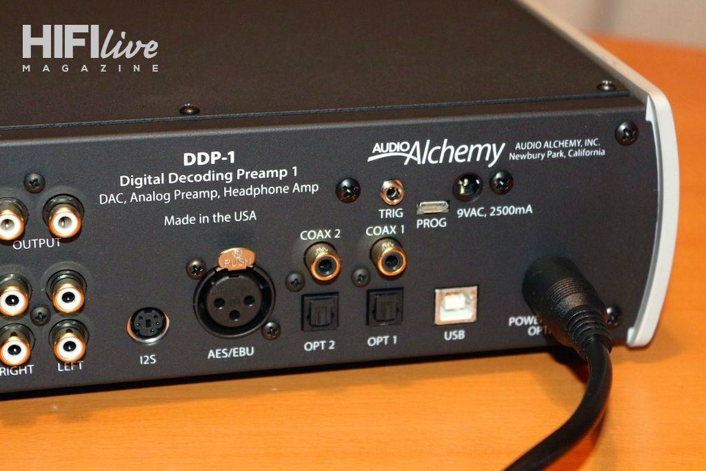 Audio Alchemy DDP1 tras digit
