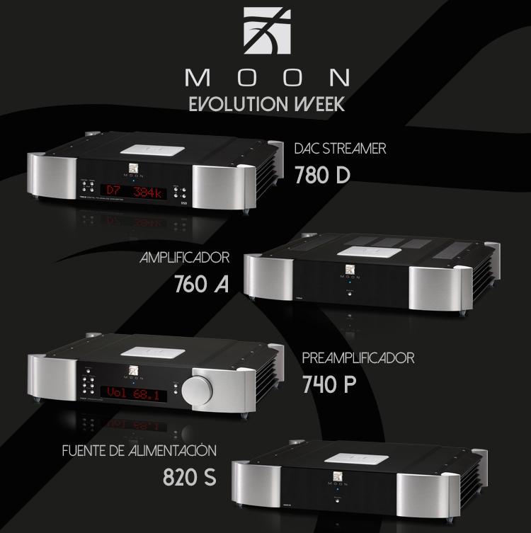Dispositivos MOON Evolution Week Evento deCine